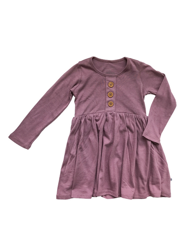 L/S Maisie Dress- Orchid