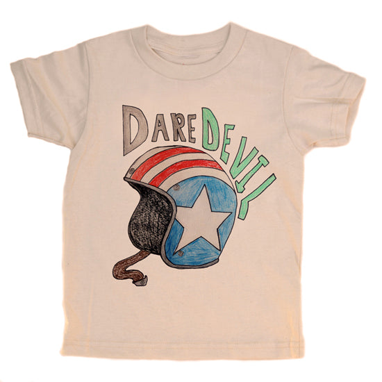 Dare Devil Print kids Tee