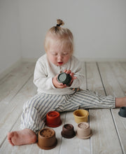 Load image into Gallery viewer, Stacking Cups Toy - Retro
