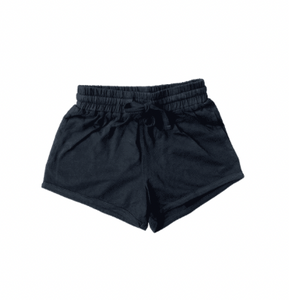 Drawstring Short- Black