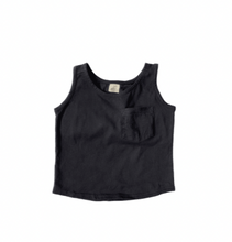 Load image into Gallery viewer, Pocket Tank- Black
