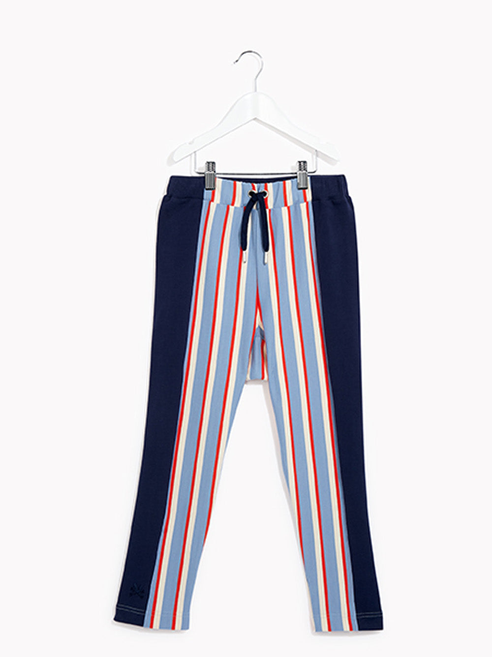Boys Joggers Tracksuit Bottoms - Right on Collegiate Stripe Sweat Trouser