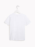 Boys Cool Short Sleeved Tee - Kids The Art Party Optic White T-shirt