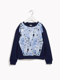 Boys Long Sleeved Sweatshirt Jumper - Freshman Splatter Sweat Top Jumper Long Sleeved Top