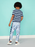 Boys Joggers Tracksuit Bottoms - Right on Splatter Sweat Trouser