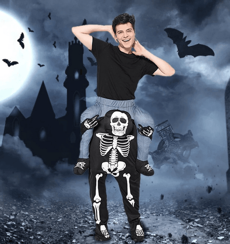 Magic Skeleton Pants Halloween Costume for Men