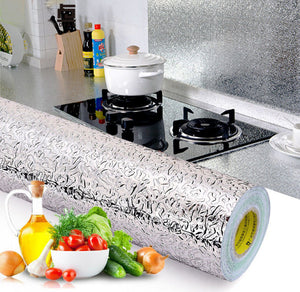Self Adhesive Oil Proof Kitchen Wallpaper