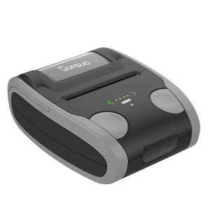 QS-5806 Portable 58mm Bluetooth POS Receipt Thermal Printer - Grey