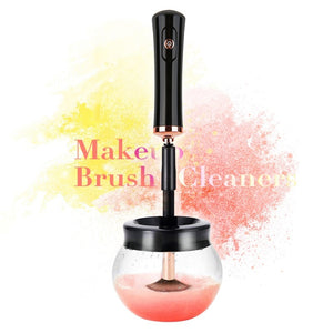 Electric Makeup Brush Cleaner Convenient Silicone Make up Brushes Washing Cleanser Cleaning Tool
