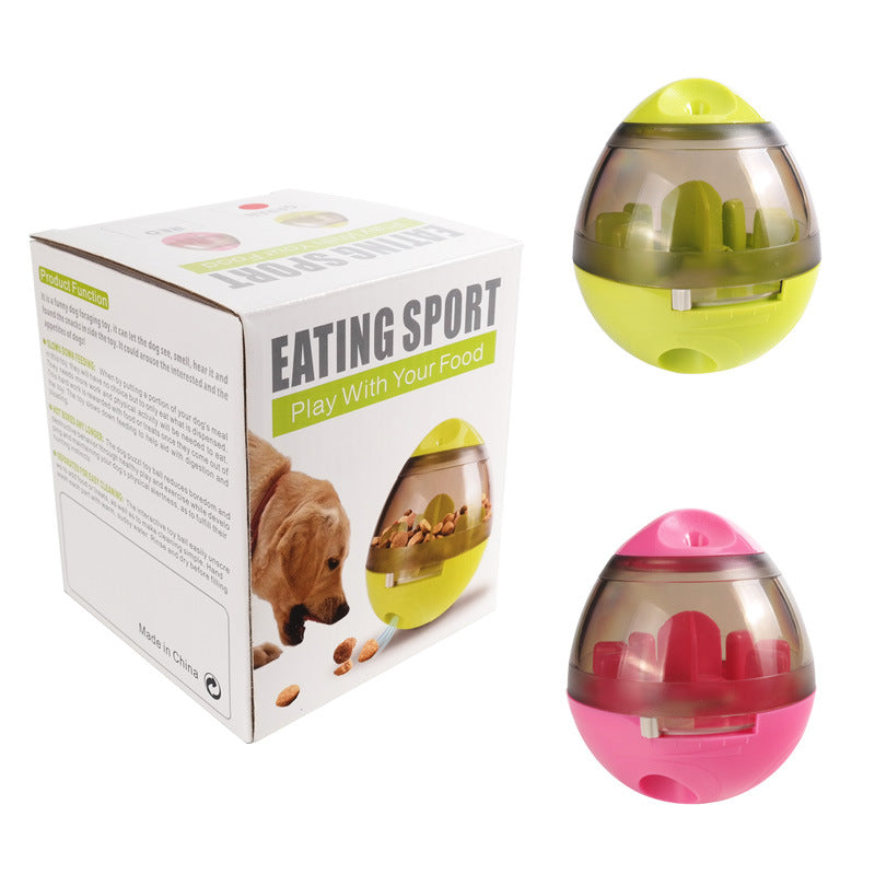 Pet Food Feeder Dispenser Funny Toy