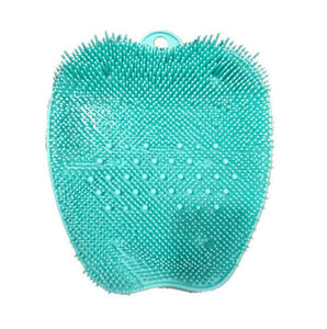 Pregnant Women Without Bend Over Shower Foot Massager Scrubber Cleaner Washing Massage Tools Pad Mat Elderly Feet Cleaning Brush