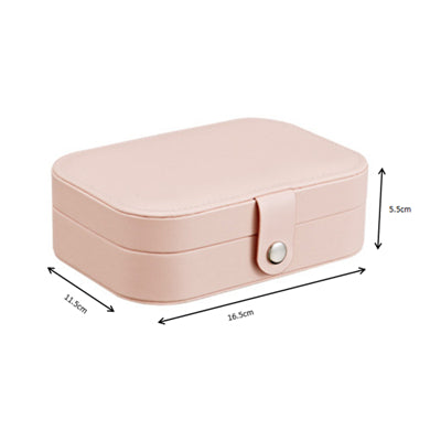 Jewelry Box Makeup Organizers Jewelry Casket Storage Acessorios Box Travel Small Collection Case Woman Necklace Earrings Rings