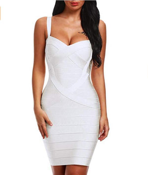 Bandage Mini Club Party Dresses