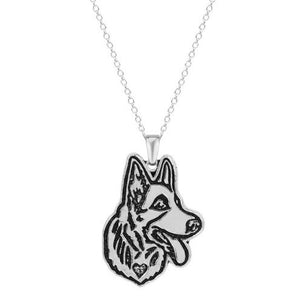 Husky Dog Puppy Pet Lovers Necklaces Pendants