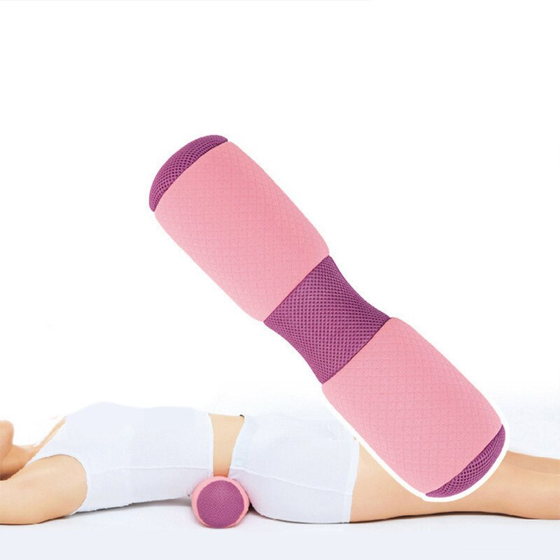 Multifunctional Yoga Exercise Bolster Fitness Massage Pilates Office Cervical Waist Exercises Relieve Fatigue Gym Training