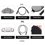Portable Adults Neck Hammock Set Office Neck Rest Stretcher Relieves Travel Memory Foam Pillow + Mask Accessories Neck Hammock