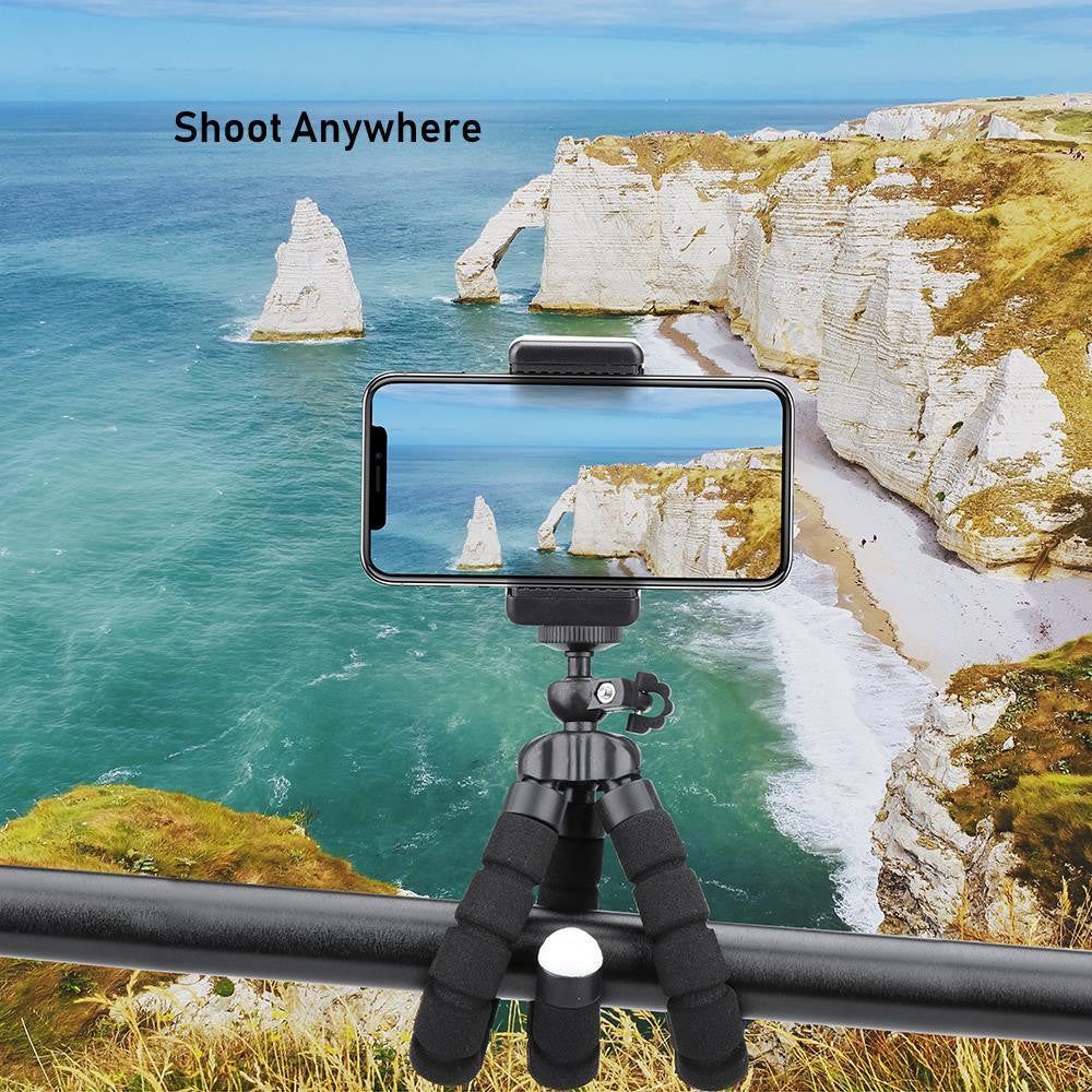 Flexible Octopus Tripod Stand with Wireless Remote - PRETTY BUYERS