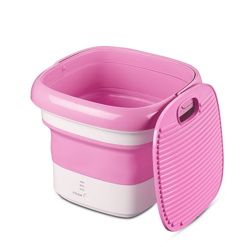 Convenient Folding Portable Sterilizing Washing Machine