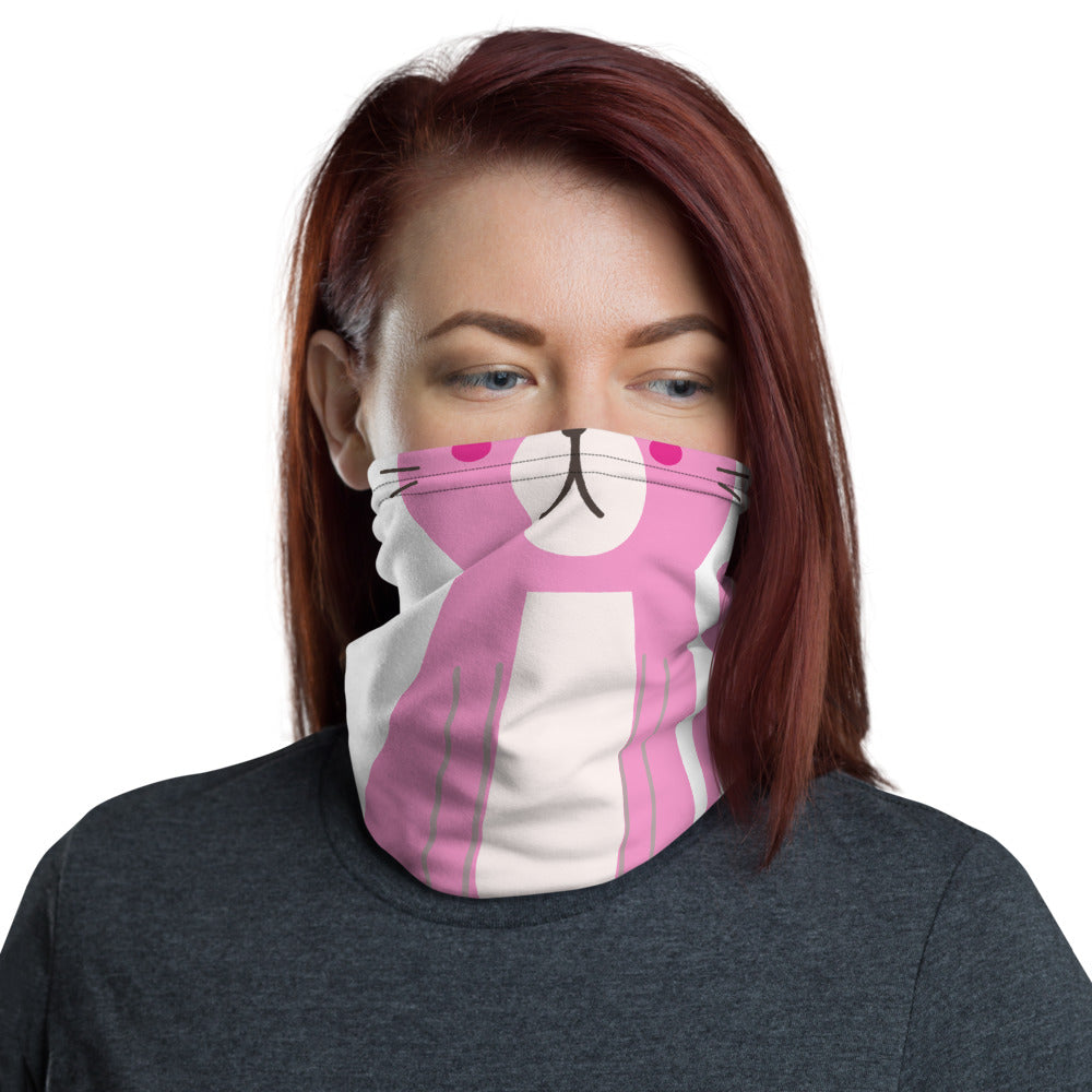 Cute Cat Face Neck Gaiter