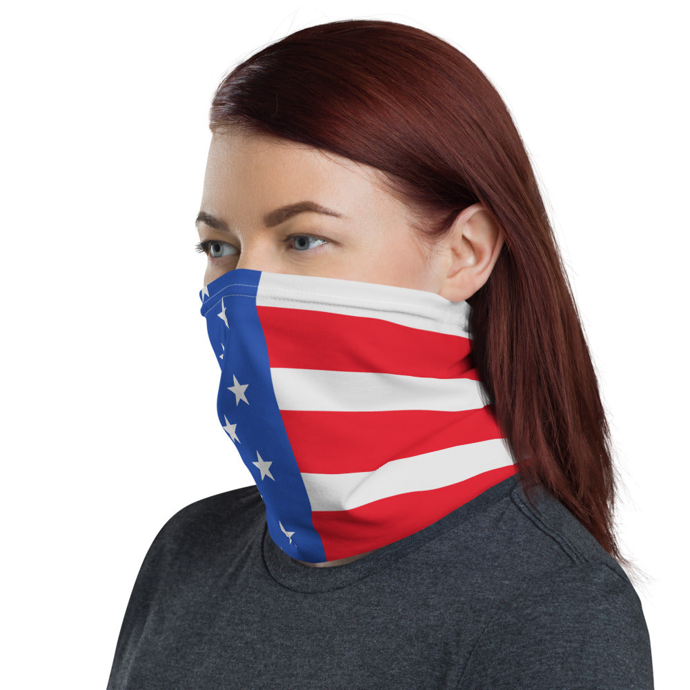 USA Flag Neck Gaiter