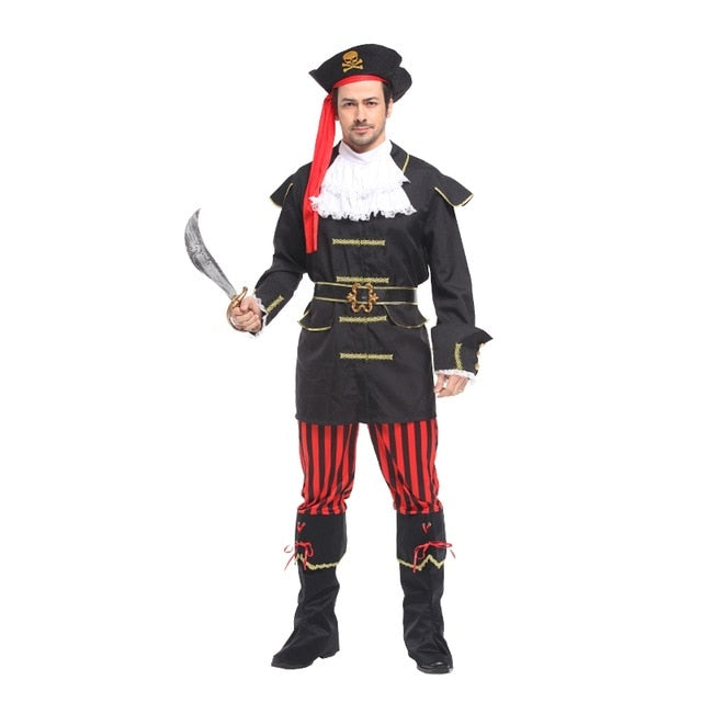 Royal Pirate Captain Costume for Family | Halloween Family Costume