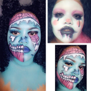 Flash Tattoo Face Paint | Body Paint Make Up for Halloween 2019