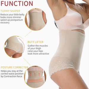 High Waist Shapewear Panties