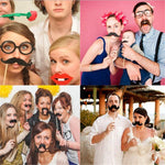 Photo Booth Prop 2019 | 31 Pieces Funny Photo Booth Props for Party Decoration
