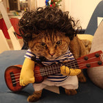 Funny Country Singer Cat Costume