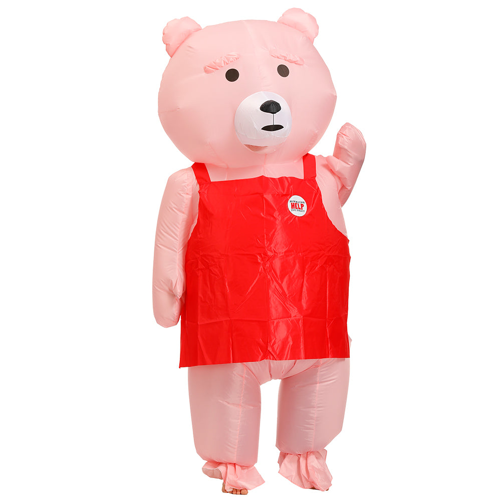 Teddy Bear Inflatable Funny Costume | Inflatable Halloween Costumes