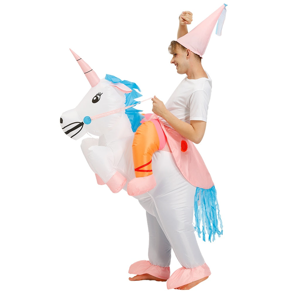 Inflatable Unicorn Costume | Halloween Costume For Girls