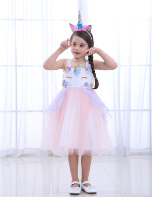 Unicorn Costume for Kids | Sweet Girls Halloween Costume