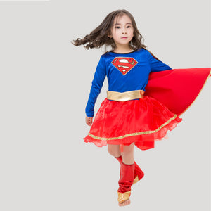 Superman Costume For Kids | Halloween Costumes for Girls