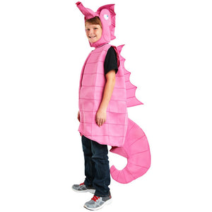 Pink Seahorse Costume for Kids | Halloween Boy Costume