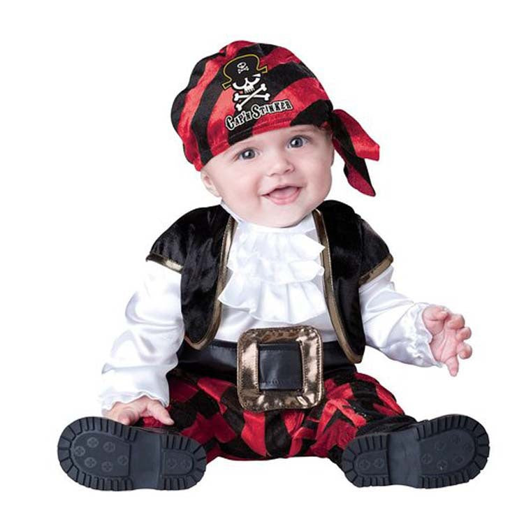 Baby Pirate Cosplay Costume | Halloween Costume for Toddler