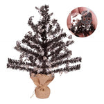 Reflective Sequins Tinsel Tree for Halloween Decoration