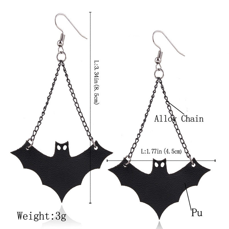 Vintage Bat Earrings