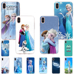 Frozen Theme iPhone Case - Elsa Frozen Case