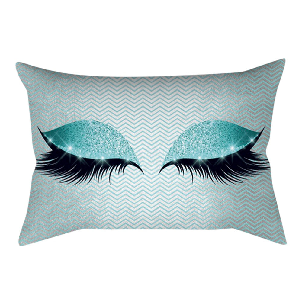 Soft Eyelash Pillow Case (30cm x 50cm)