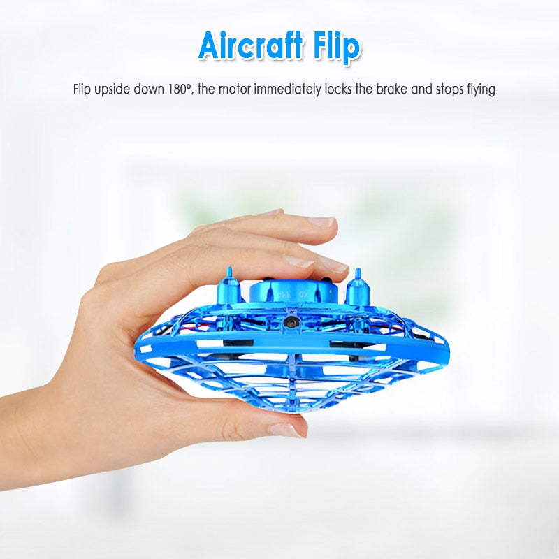 Mini Induction Quadcopter UFO Helicopter for Kids
