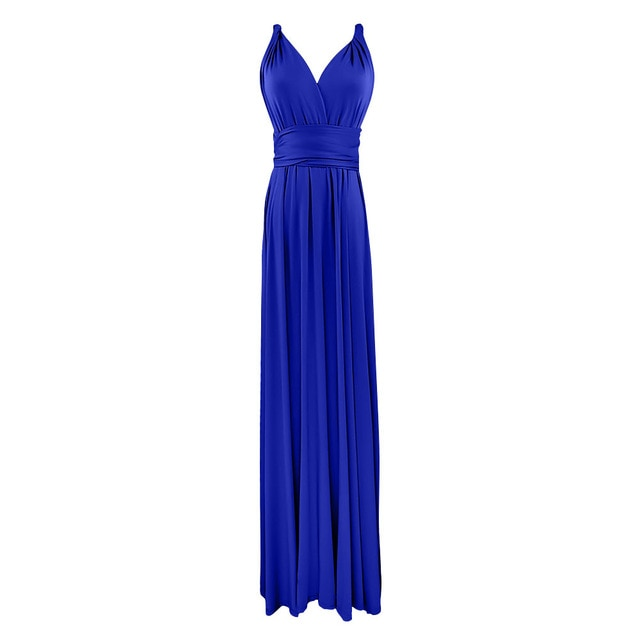 Multi-Way Wrap Women Transformer Gown