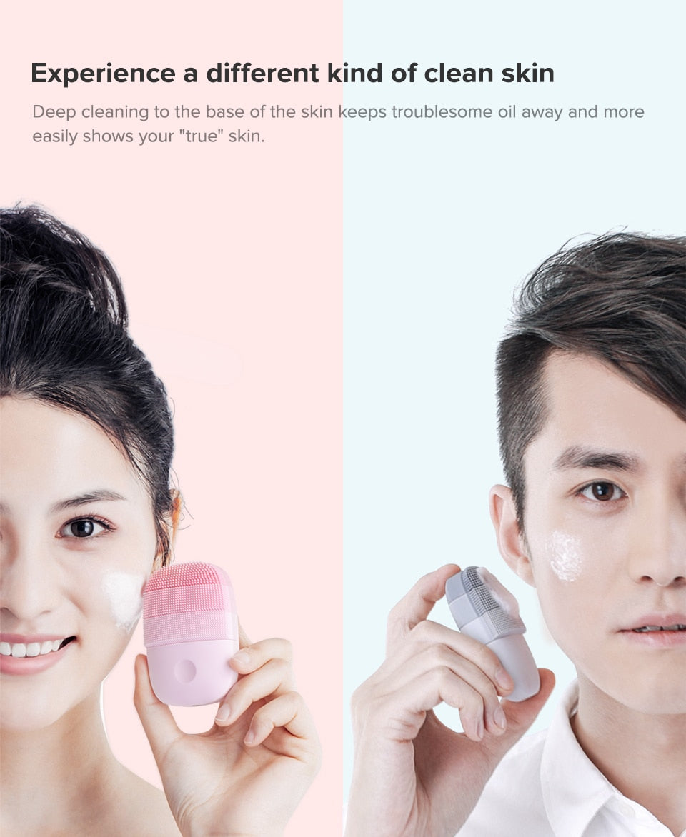Happy Facial Waterproof Cleanser - Beauty Massager