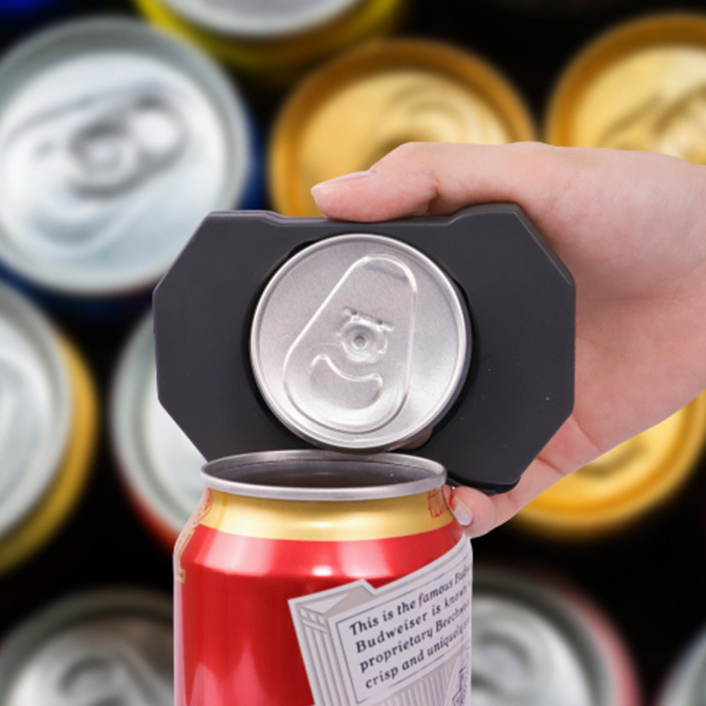 Universal Topless Can Opener The Easiest Can Opener Ez-Drink Opener Bottle Opener Topless beer can Opener