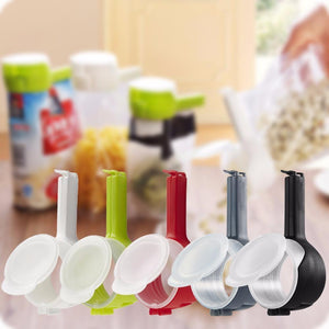 Easy Pour Seal - Food Storage Bag Clip (Pack of 3)