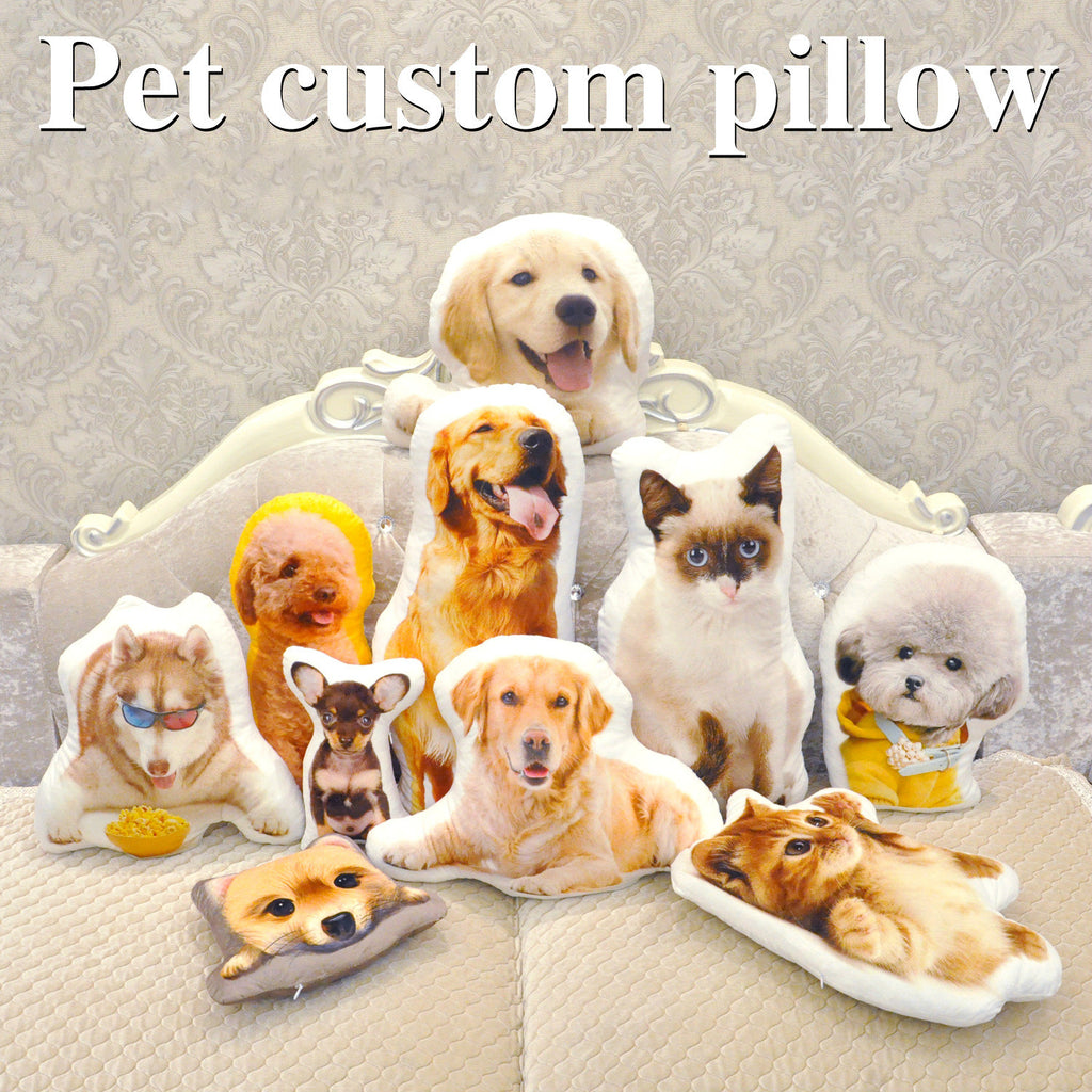 Customized Shaped Pet Pillow | Face Pillow™