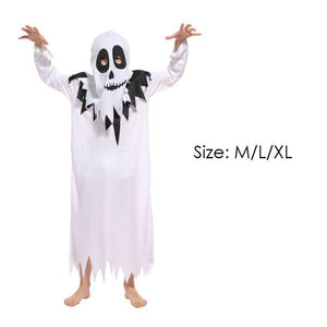 White Ghost Costume for Girls