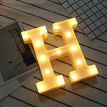DIY LED Letter Symbol Lights | Party DIY Decorations