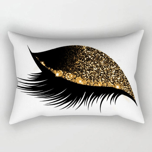 Creative Eyelash Pillow Case (30 cm x 50 cm)