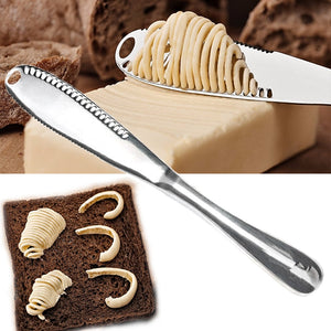 3 in 1 Stainless Steel Butter Knife