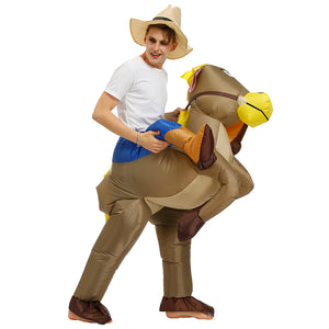 Inflatable Halloween Costume |  American Wild West Cowboy